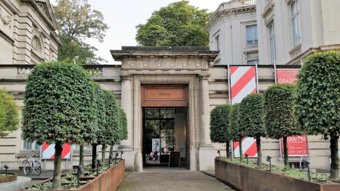 Entrée du musée BELVue à Bruxelles