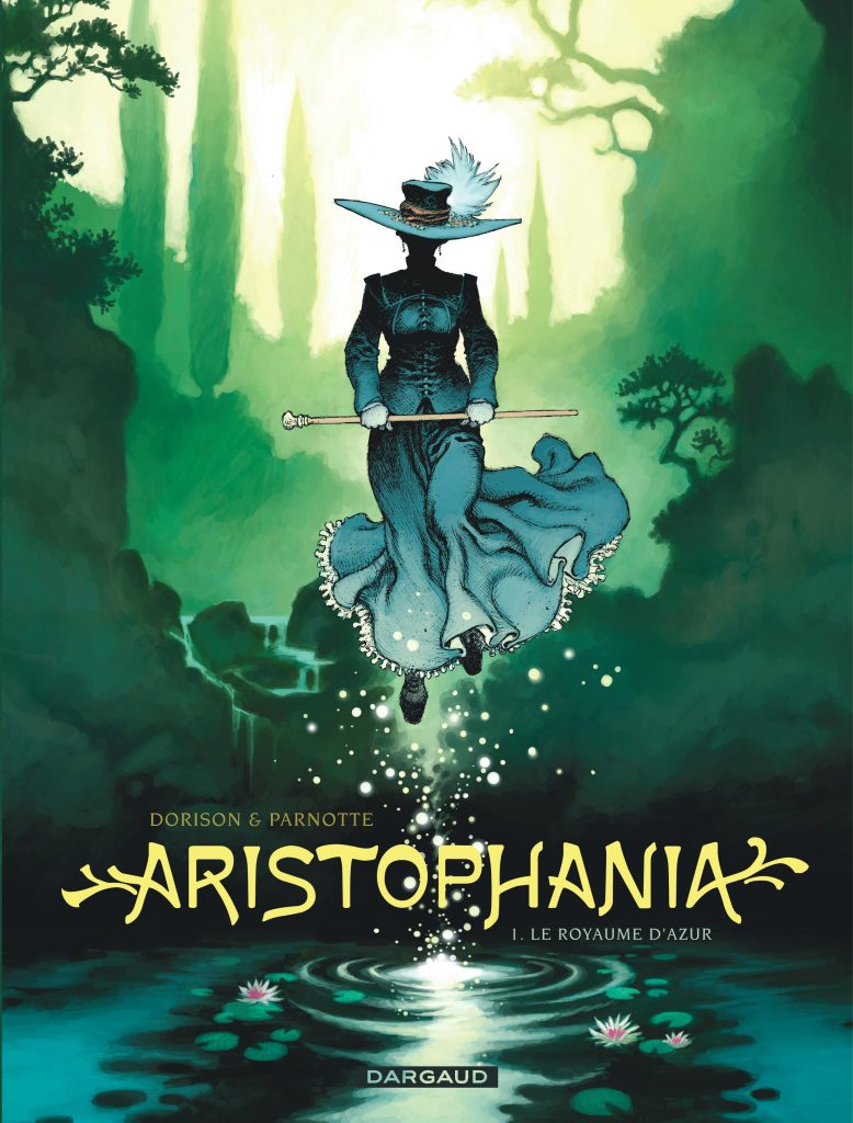 "Couverture de la BD ""Aristophania"""