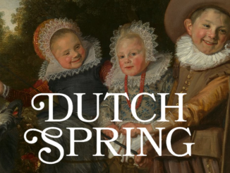 Affice de l'expo Dutch Spring aux MRBAB