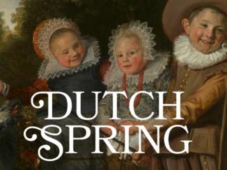 Affice de l'expo Dutch Spring aux MRBAB