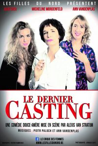 affiche du spectacle Le Dernier Casting
