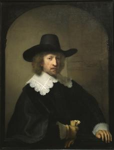 Rembrandt, Portrait de Nicolaes van Bambeeck, 1641. © MRBAB, Bruxelles / photo : J. Geleyns-Art Photography