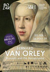 Affiche de l'exposition Bernard Van Orley à BOZAR Bruxelles, 2019