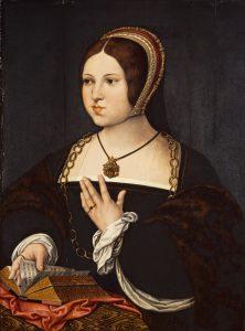 Portrait de Marie Haneton par Bernard van Orley, vers 1518