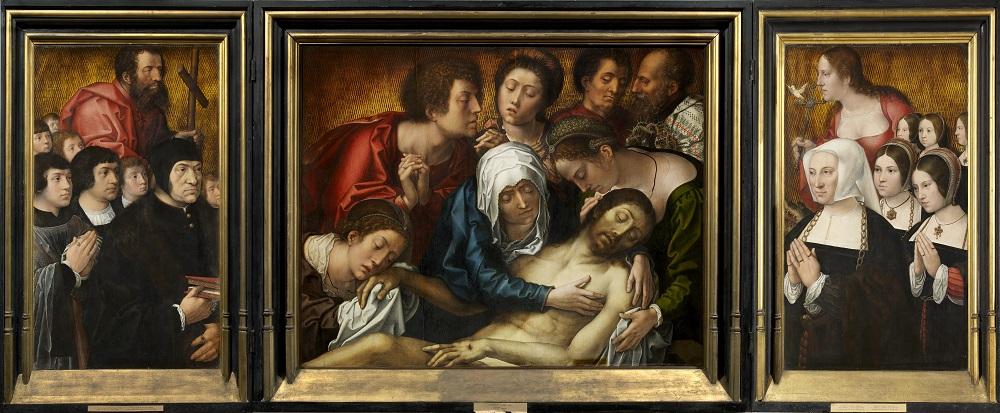 Bernard van Orley, Triptique Haneton (1520)
