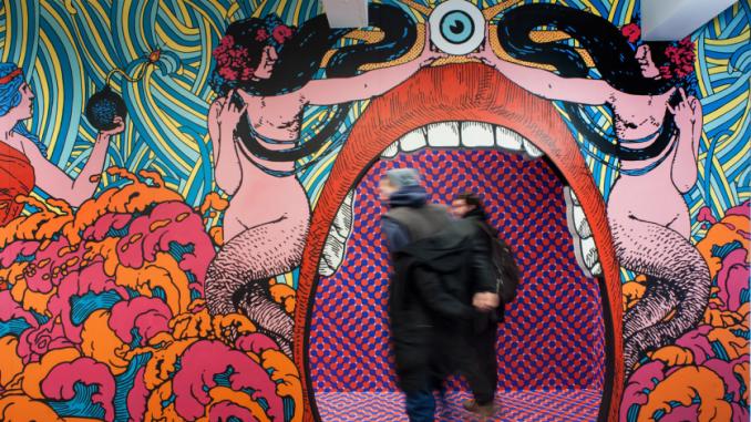 Expo Dream Box au MIMA à Bruxelles, 2019