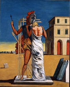 Giorgio de Chirico, Cri d'amour, 1974. Fondazione Giorgio e Isa de Chirico, Rome © SABAM Belgium 2019