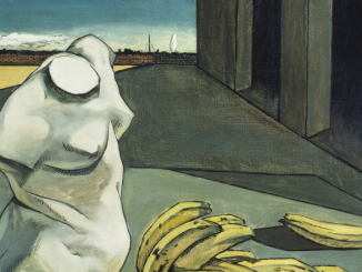 Détail de Giorgio de Chirico, L'incertitude du poète, 1913. ©Tate, 2018 © SABAM Belgium 2019