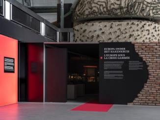 """Exposition """"Guerre, Occupation, Libération"""", War Heritage Institute — Musée royal de l'Armée et d'Histoire militaire."""