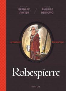 """Couverture de la BD """"Robespierre"""" (Dupuis, 2019)"""
