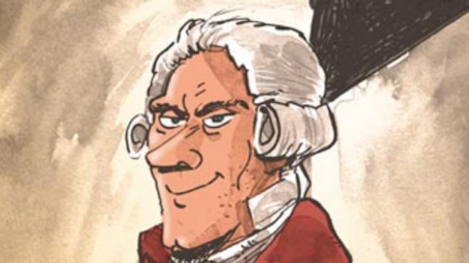 """Détail de la BD """"Robespierre"""" (Dupuis, 2019)"""