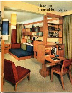 Meubles et décors, spécial Benelux à l'expo, n°719-720(1958). Fonds faculté d'architecture, Archives et Bibliothéque d'Architecture de l'ULB