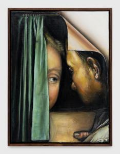 Thomas Lerooy, Two is a pair, huile sur toile, 2019. © Thomas Lerooy et Rodolphe Janssen, Bruxelles. Photo : HV Photography