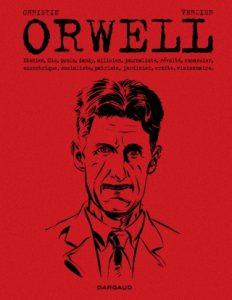 Couverture de la BD Orwell (Dargaud, 2019)
