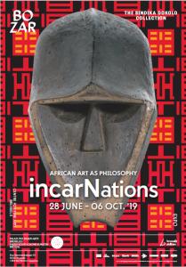 Affiche de l'expo IncarNations (BOZAR, 2019)
