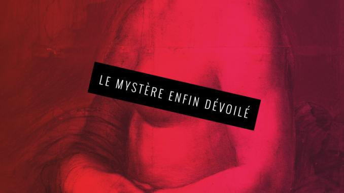 """affiche de l'expo """"La Joconde nue"""" au domaine de Chantilly (France), 2019"""
