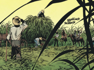 "Détail d'une illustration de la BD ""Louisiana, la couleur du sang"" (Dargaud, 2019)"