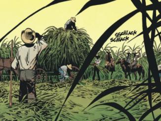 """Détail d'une illustration de la BD """"Louisiana, la couleur du sang"""" (Dargaud, 2019)"""