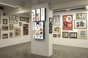 """Photographie de l'exposition """"Obsessions"""" au MIMA, Bruxelles, 2019"""