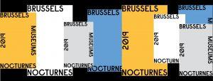 Poster des Brussels Museums Nocturnes 2019