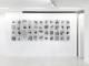 Exposition Contritio de FTN à la Macadam Gallery de Bruxelles (septembre 2019), détail.