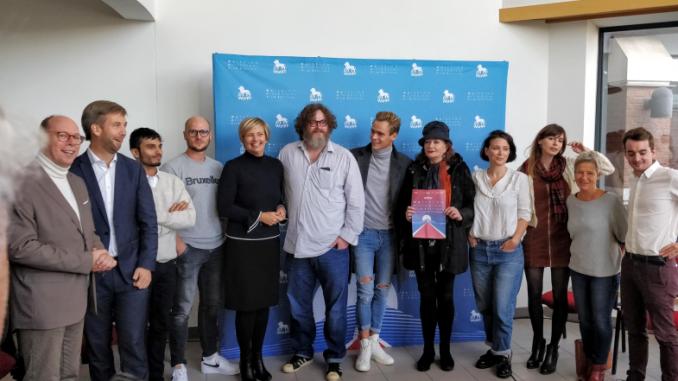 Présentation du Jury officiel du Waterloo Historical Film Festival (WaHFF) 2019 à la presse, 17 octobre 2019