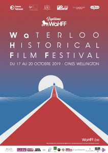 Affiche du Waterloo Historical Film Festival (WaHFF) 2019