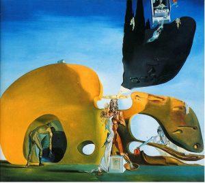 Salvador Dalí, Naissance des désirs liquides, 1931-1932, Peggy Guggenheim Collection, Venice.