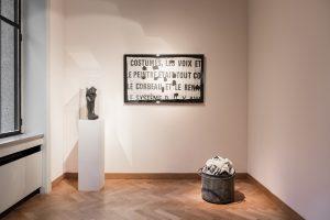 Botte et toile photographique, Le Corbeau et le Renard, Le Renard, l'Agora © Thibault De Schepper