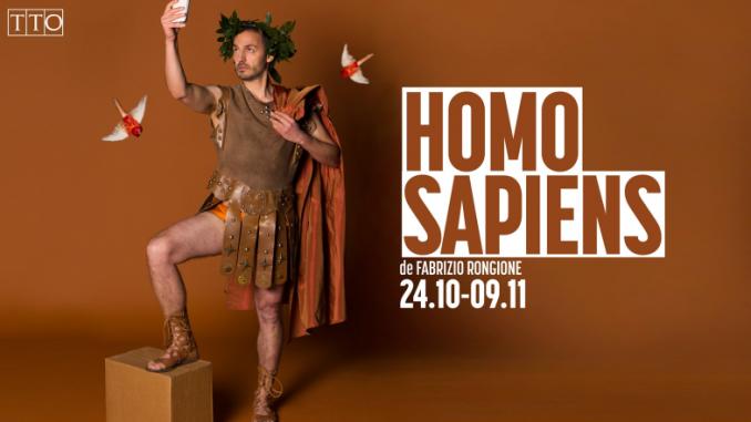 """Affiche du spectacle """"Homo Sapiens"""" (TTO, 2019)"""