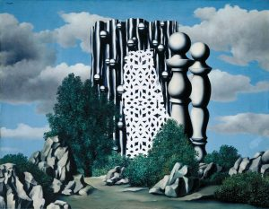 René Magritte, L'Annonciation, 1930, huile sur toile, Tate : Purchased with assistance from the Friends of the Tate Gallery 1986.