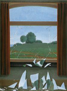 René Magritte, La clef des champs, 1936, huile sur toile, Museo Nacional Thyssen-Bornemiza, Madrid.
