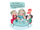 Vignette extraite de la bande dessinée « Voir la coupette à moitié pleine » de Mathou (Tapas, 2019)