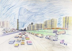 Wesley Willis, M.Thies, Collection MADmusée, Fonds Duvel Moortgat