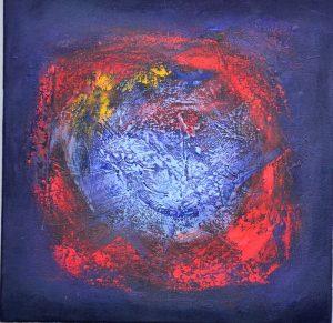 Valentin Ganev. Méditations, variation en rouge, jaune et bleu