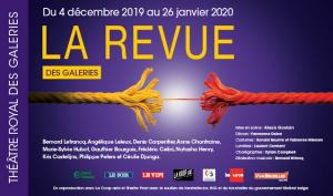 Affiche de la Revue des galeries 2019Affiche de la Revue des galeries 2019