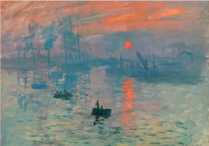 Claude Monet, Impression, soleil levant, huile sur toile, 1872, musée Marmottan, Paris