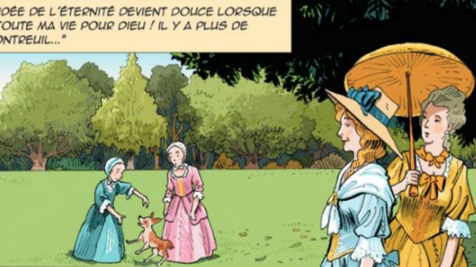 """Extrait de la BD """"Madame Elisabeth de France"""" (Artège, 2019)"""