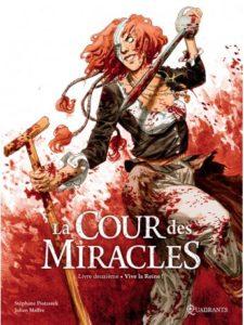 Couverture du tome 2 de la BD « La Cour des miracles » (Soleil, 2020)