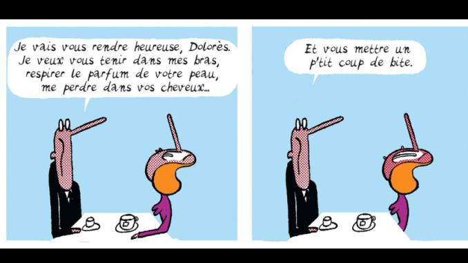 Extrait de la BD « Torrents d'amour » de Jean-Christophe Mazurie (Pataquès, 2020)