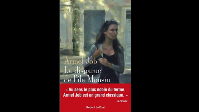 Couverture du roman « La disparue de l'île Monsin » d'Armel Job (Robert Laffont, 2020)