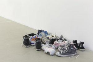 Latifa Echakhch, Skin, 2012, installation © dailyartfair.com