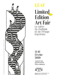 Affiche de la Limited Edition Art Fair 2020