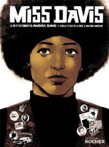 Couverture de la BD « Miss Davis » (Éditions du Rocher, 2020)