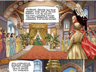 Extrait de la BD « Roxelane la Joyeuse » (Delcourt, 2020)