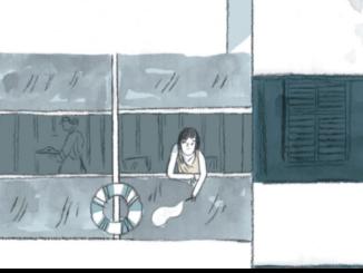"""Extrait de la BD """"Eileen Gray, une maison au soleil"""" (Dargaud, 2020)"""