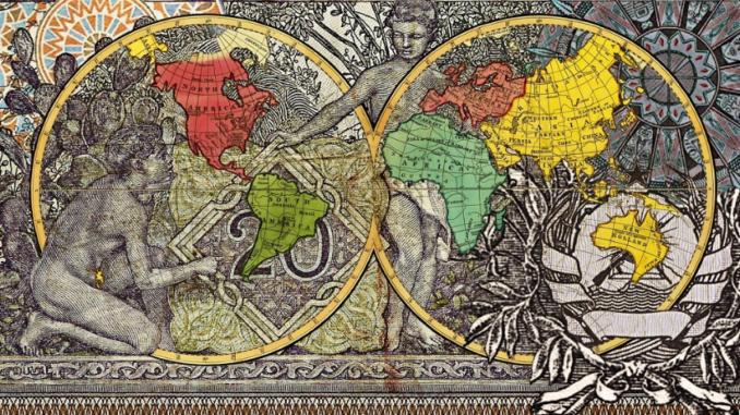 Figures 1799, Explorers' routes, 2015. © Malala Andrialavidrazana. Courtesy the artist & Dialect