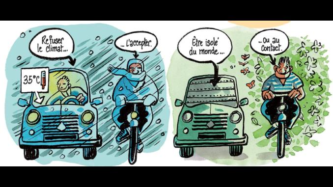 Extrait du « Petit traité de vélosophie » de Tronchet (Delcourt, 2020)