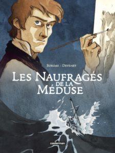 Couverture de la BD « Les Naufragés de La Méduse » (Casterman, 2020)