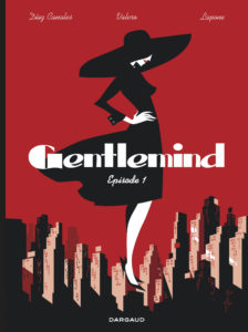 Couverture de la BD « Gentlemind » (Dargaud, 2020)